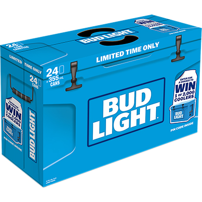 Labatt - Bud Light In-case Promo Pack